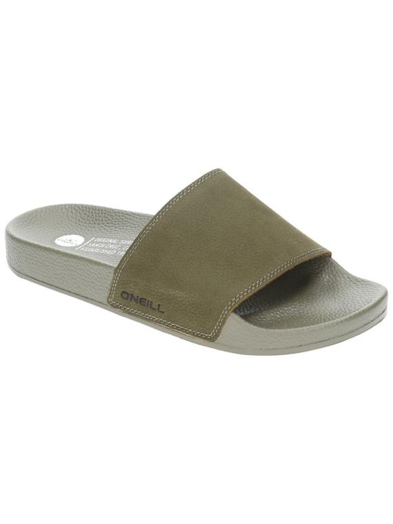 O'Neill Nubuck slippers groen