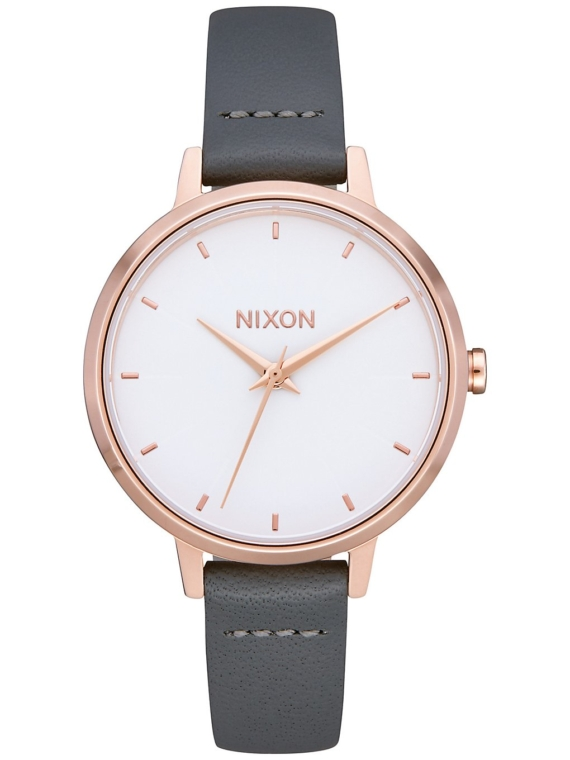 Nixon The Medium Kensington lederen roze