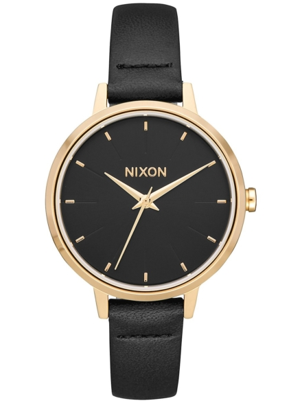 Nixon The Medium Kensington lederen geel