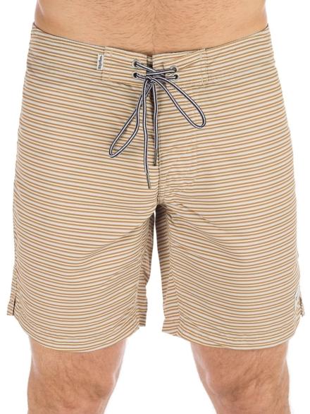 Rhythm Heritage Stripe Boardshorts oranje