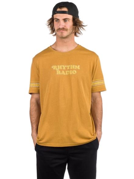 Rhythm College Radio T-Shirt geel