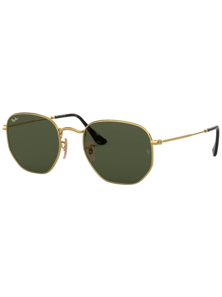 Ray-Ban Hexagonal Gold geel