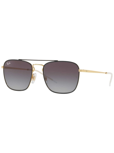 Ray-Ban RB3588 Gold On Top zwart geel
