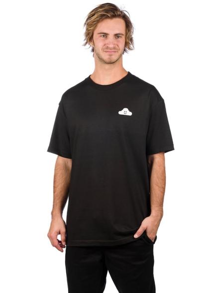 Thank You Cloudy T-Shirt zwart