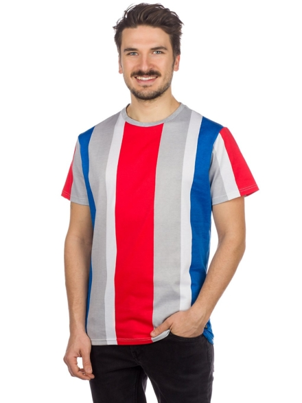 American Stitch Vert Stripe T-Shirt patroon
