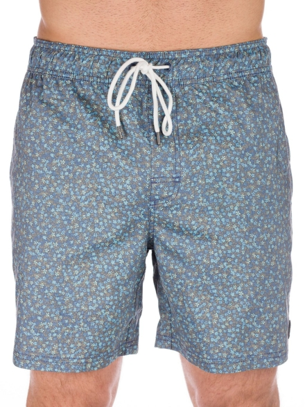 RVCA Eclectic Elastic Boardshorts blauw