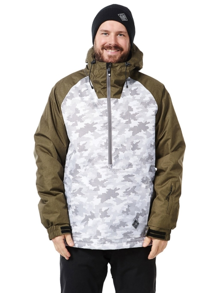 Light Rail Ski jas camouflage