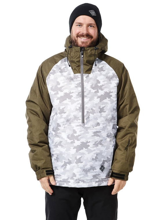 Light Rail Ski jas camouflage