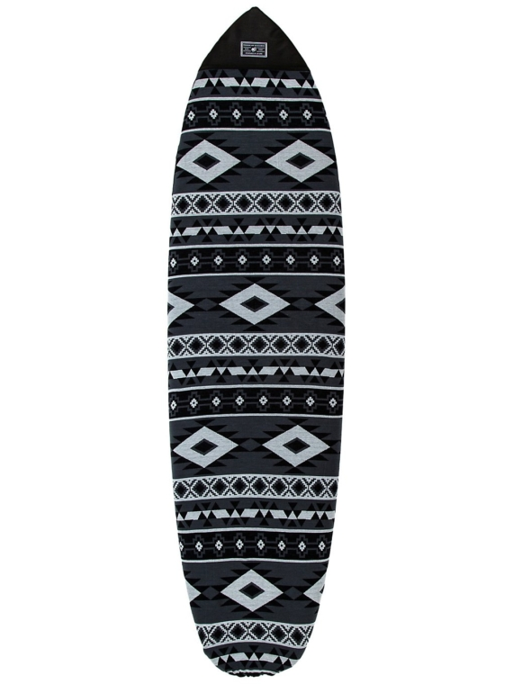 Creatures of Leisure Fish Aztec Sox 6'0 Surfboard tas grijs