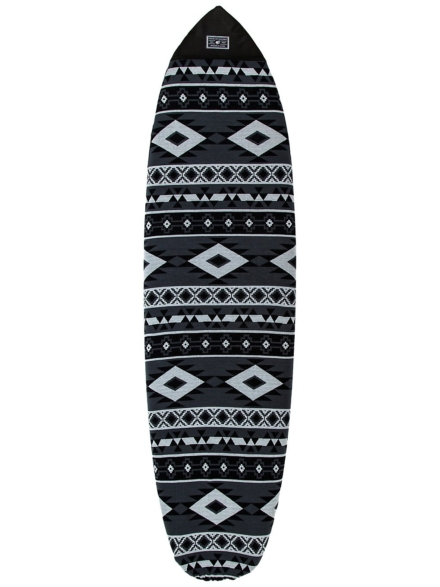 Creatures of Leisure Fish Aztec Sox 6'3 Surfboard tas grijs