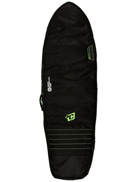 Creatures of Leisure Fish Double 6'7 Surfboard tas zwart