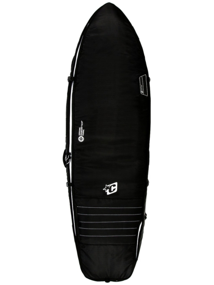 Creatures of Leisure Fish Triple 6'3 Surfboard tas zwart