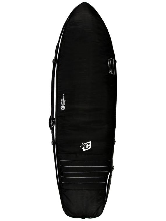 Creatures of Leisure Fish Triple 6'3 Surfboard tas zwart