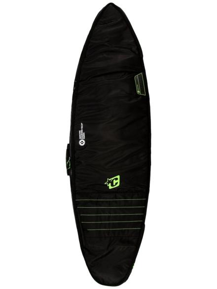 Creatures of Leisure Double 6'0 Surfboard tas zwart