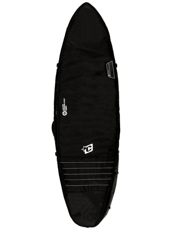 Creatures of Leisure Triple 7'1 Surfboard tas zwart