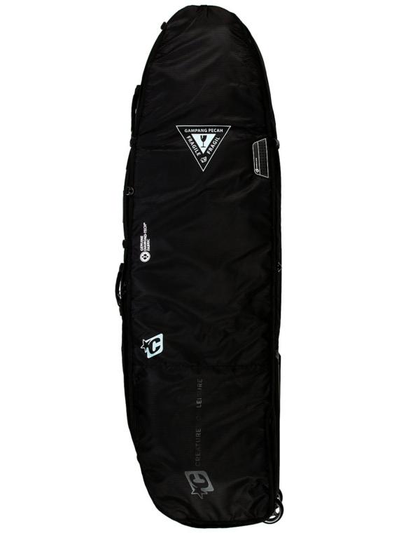 Creatures of Leisure Quad 6'3 Surfboard tas zwart