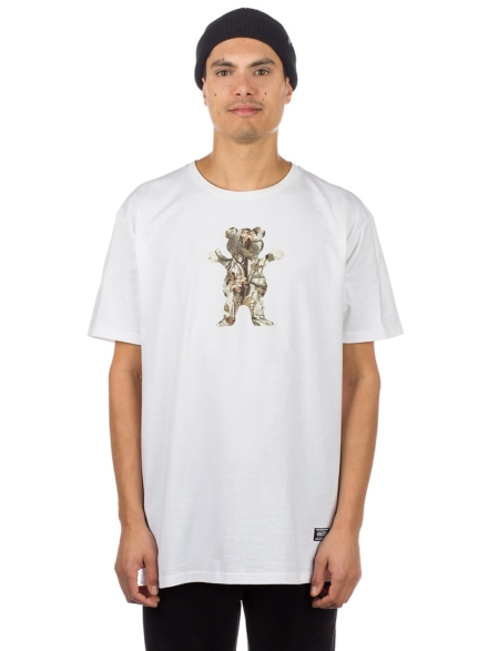 Grizzly Terrain OG Bear T-Shirt wit