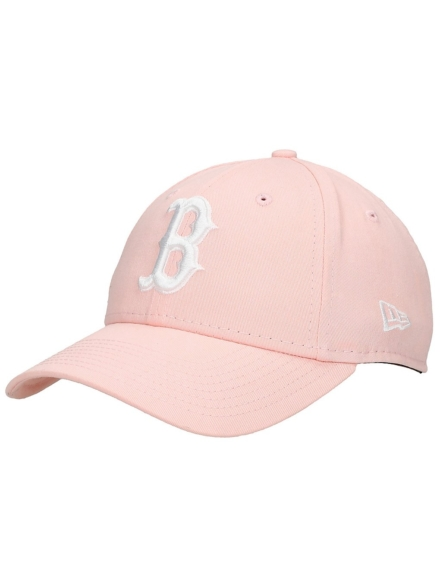 New Era League Essential 9Forty Red Sox petje roze