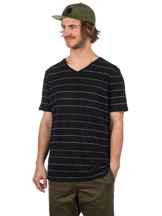 Kazane Landscape T-Shirt zwart