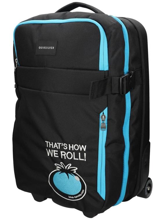 Blue Tomato X Quiksilver New Horizon 32L Travel tas zwart