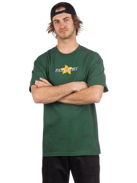 Pass Port Daffoil Applique T-Shirt groen