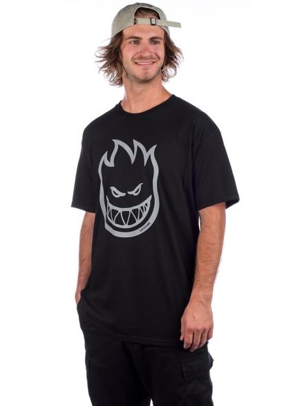 Spitfire Bighead Hi-VIS T-Shirt zwart