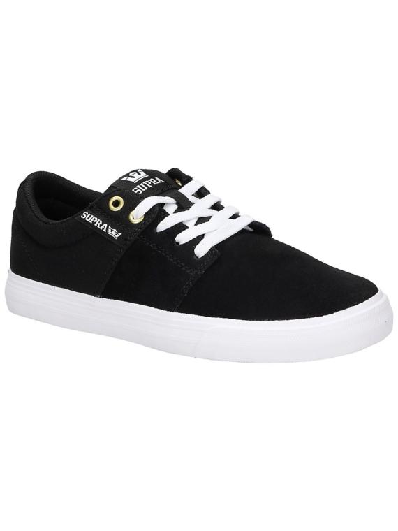 Supra Stacks II Vulc Skate schoenen zwart