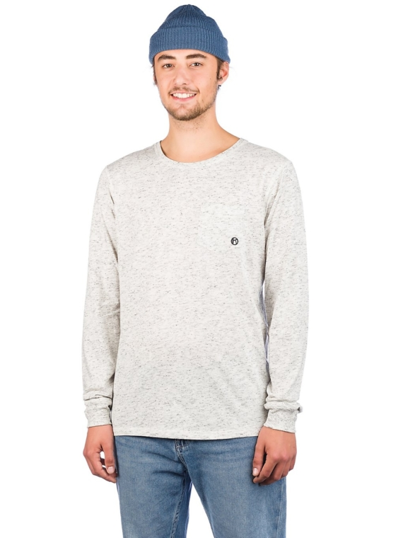 Kazane Rock Long Sleeve T-Shirt wit