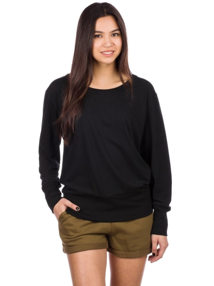 Kazane Patrika Long Sleeve T-Shirt zwart