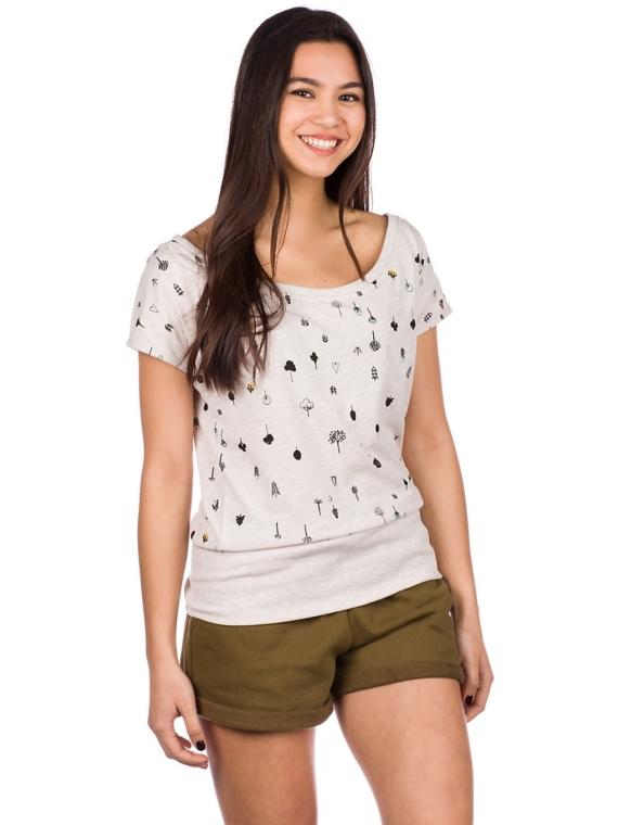 Kazane Hilde T-Shirt bruin
