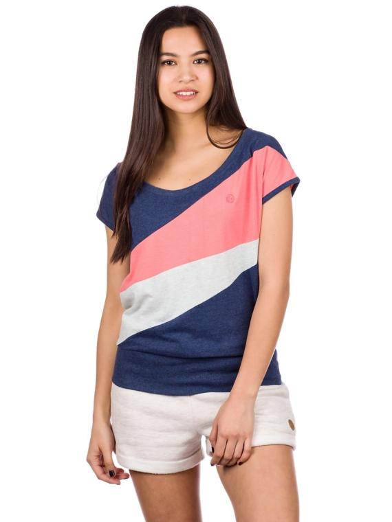 Kazane Tuva T-Shirt blauw