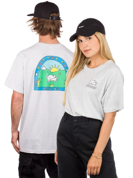 RIPNDIP Two Nermals T-Shirt grijs