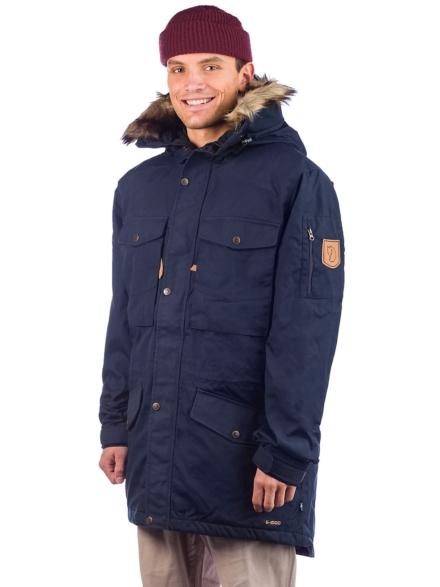 Fjällräven Singi Winter Ski jas blauw