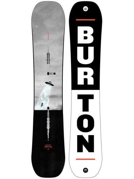 Burton Process Flying V 159W 2020 patroon