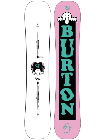 Burton Kilroy Twin 152 2020 patroon