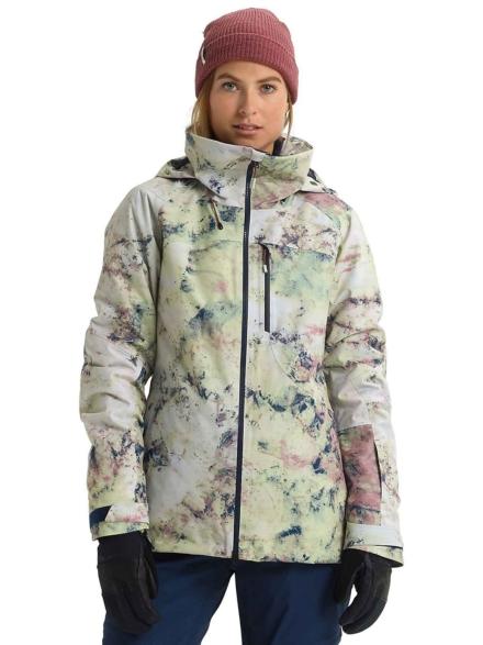 Burton ak Gore-Tex Embark Ski jas roze