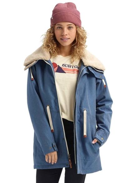 Burton Hazelton Ski jas blauw