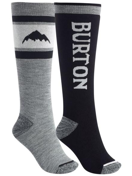 Burton Weekend MDWT 2- Pack Tech skisokken zwart