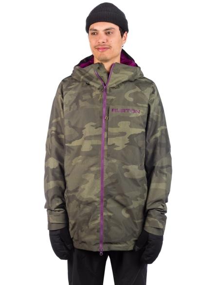 Burton Gore-Tex Radial Ski jas camouflage