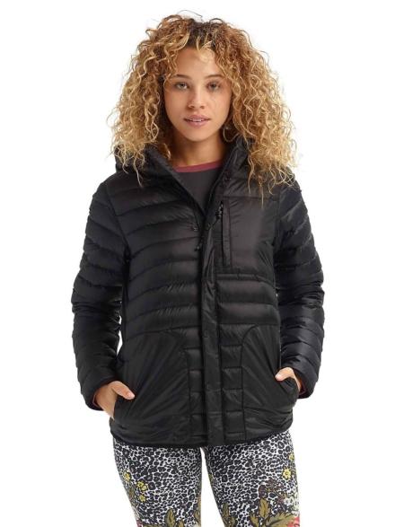 Burton Evergreen Down Hoody Ski jas zwart