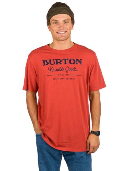 Burton Durable Goods T-Shirt rood