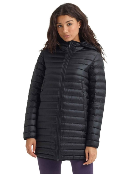 Burton Evergreen Long Down Insulator Ski jas zwart