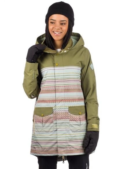 Burton Gore-Tex Eyris Ski jas groen