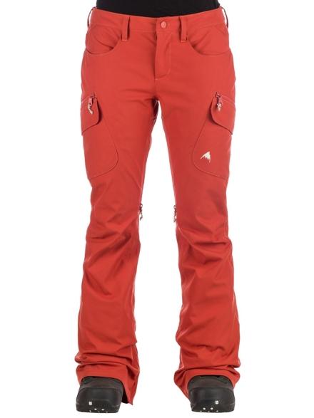 Burton Gloria Insulator broek rood
