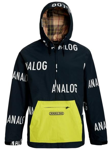 Analog Chainlink Anorak bruin