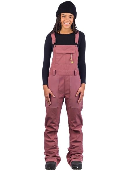 Burton Avalon Softshell Bib broek roze