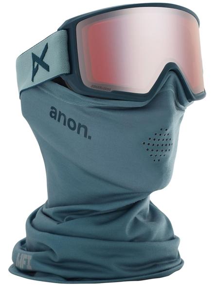 Anon M3 MFI Gray (+Bonus Lens) grijs