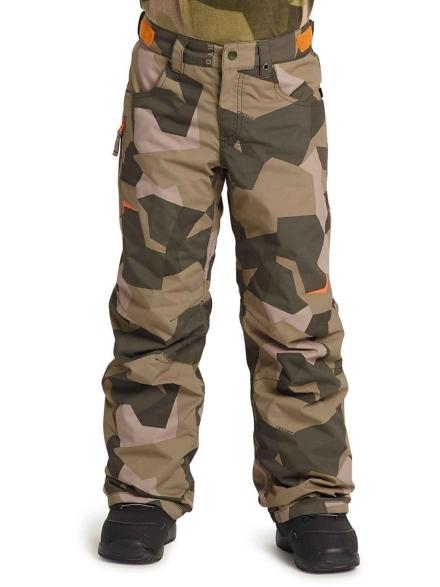 Burton Barnstorm broek camouflage