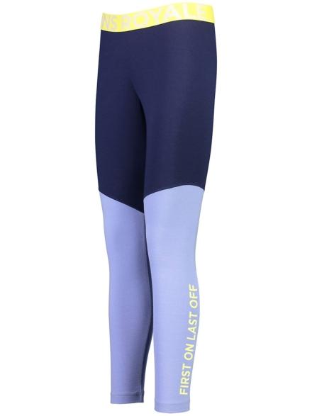 Mons Royale Merino Christy Tech broek blauw