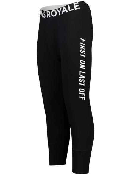 Mons Royale Merino Shaun-Off 3/4 Tech broek zwart